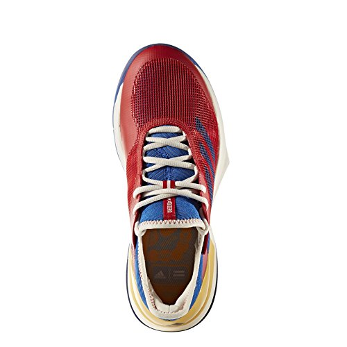 Adidas Adizero Ubersonic 3 PW Women's Tennis Shoe Red/Blue/Gold Red footaction sale online outlet brand new unisex outlet latest collections u2cVtrpl