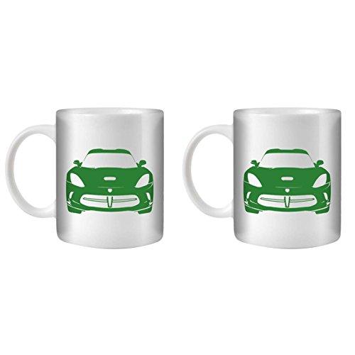 stuff4-tea-coffee-mug-cup-350ml-2-pack-green-viper-gts-white-ceramic-st10