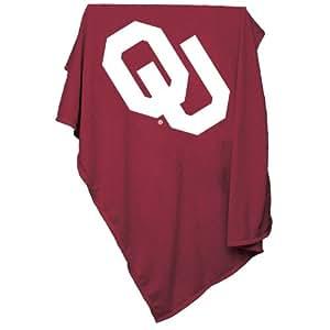 Brand New Oklahoma Sooners NCAA Sweatshirt Blanket Throw