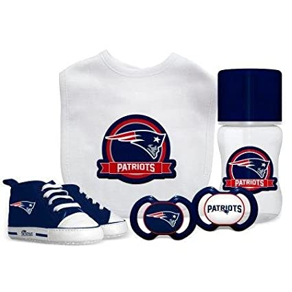 26d31d412 Image Unavailable. Image not available for. Color  Baby Fanatic NFL New  England Patriots Infant and Toddler Sports Fan Apparel