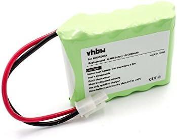 RS625 comme MRK5006A. 12V RS635,RS612 vhbw NiMH Batterie 2000mAh pour Tondeuse /à Gazon Robomow RS630