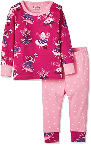 Hatley Baby Girls Organic Cotton Pajama Sets, Fairy Princess 12-18 Months