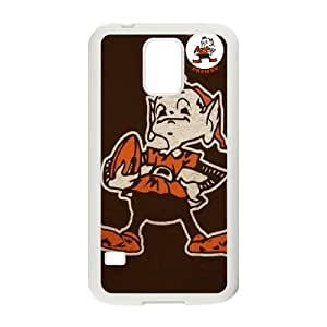 Cleveland Browns Team Logo Samsung Galaxy S5 Cell Phone Case White 218y3-103150