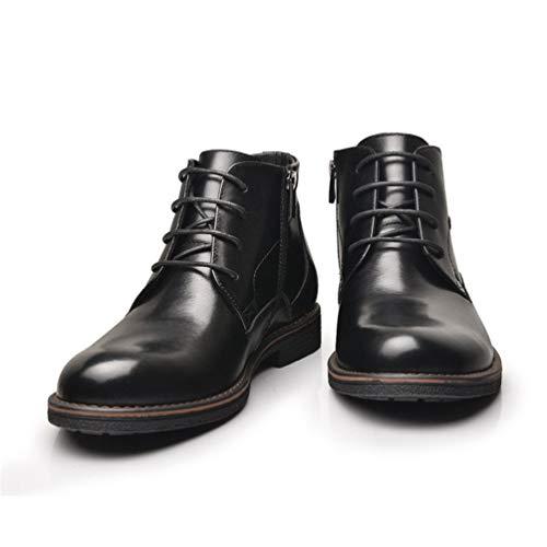 Calzado Felpa Tobillo Altos Negocios Corta Chelsea Zapatos Casual zqTxUPwC