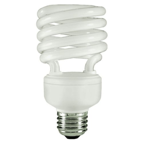 23w Compact Fluorescent Lamp - Energy Miser FE-IISB-23W-65K - 23 Watt CFL Light Bulb - Compact Fluorescent - T2 - 100 W Equal - 6500K Full Spectrum Daylight - 80 CRI - 70 Lumens per Watt - 12 Month Warranty