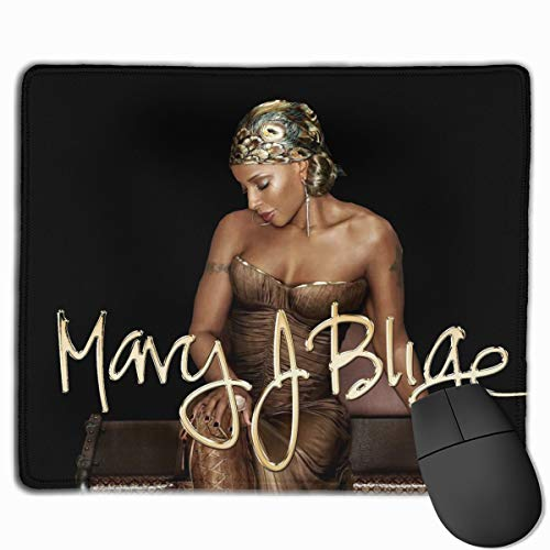 Mary J Blige Gaming Mouse Pad, Ultra Thick Silky Smooth 9.8x11.8 Inches
