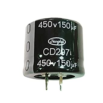 3 PCS New 450V 150UF 150MFD 450Volt Electrolytic Capacitor