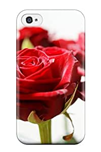 KxyaPzB2684TFWLP Snap On Case Cover Skin For Iphone 4/4s(long Stem Red Roses)