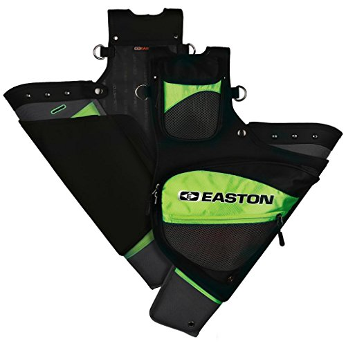 Easton Deluxe Hip Quiver RH Neon Green (Easton Pouch Release)
