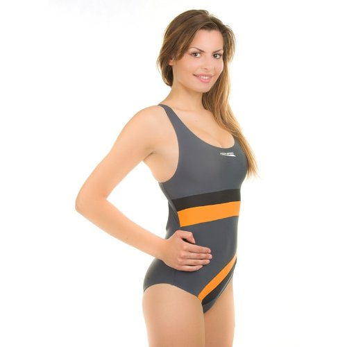 schwarz Monica orange Pro divisore galleggiante Aqua da 331 Costume signora Speed bagno un schiena Back grau Uwq6OAqx5