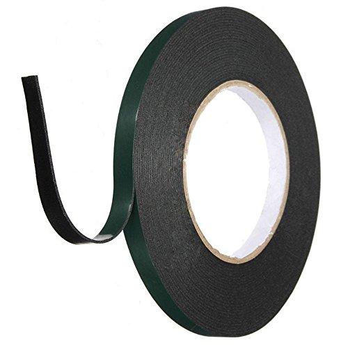 Mounting Tape, Double Sided Foam Tape Industrial Strength Sticky Adhesive Glue Heavy Duty Dustproof Waterproof (10 MM)