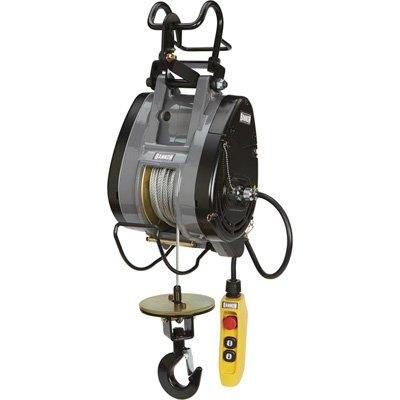 Bannon Compact Electric Cable Hoist - 790-Lb. Capacity, 124ft. Lift, 110 Volts, 1 Phase