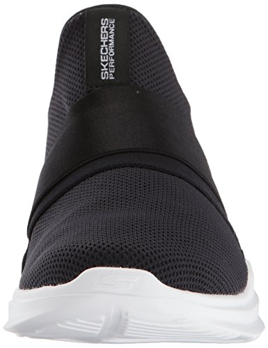 Femme black Fitness white Mojo Chaussures mania Run Noir Go Skechers De xOqfBa6ww