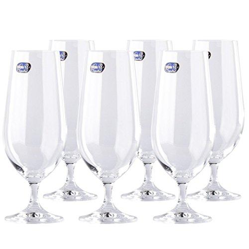 Crystal Pilsner Beer Glass - 7