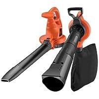Black+Decker GW2810-QS - Aspirador, soplador, triturador, 2800 W, 10.8 W, color negro y naranja