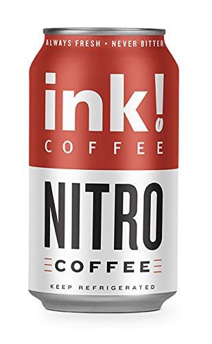 Nitro Coffee is Nature's Energy Drink! 230mg Caffeine, Zero Calories, Sugar Free, 8 x 12oz cans