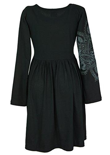 Guru-Shop -  Vestito  - Donna nero 40