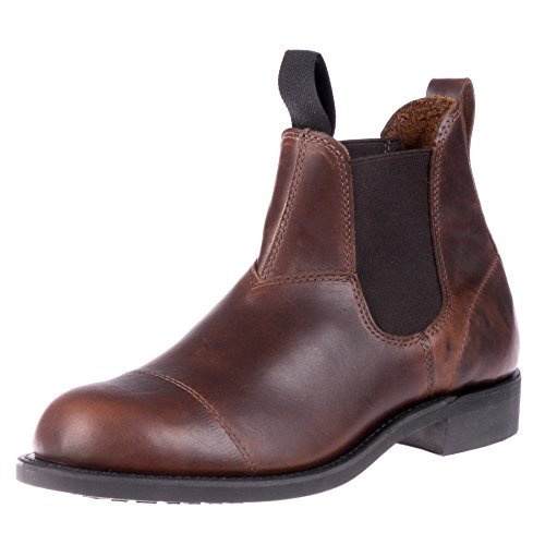 70a964aaa2 Canada West Men s Original Goodyear Welt Chelsea Boot- Pecan Tumbled  Leather