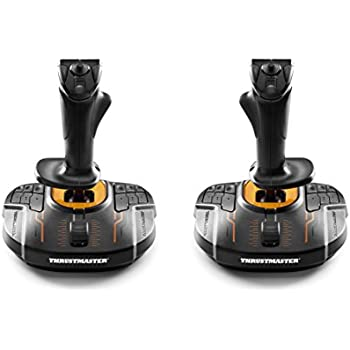 Amazon com: Thrustmaster T16000M FCS: Computers & Accessories