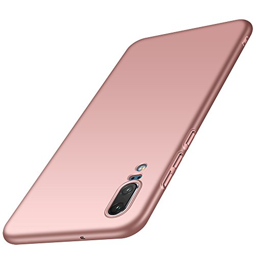 Anccer Huawei P20 Case [Colorful Series] [Ultra-Thin] [Anti-Drop] Premium Material Slim Full Protection Cover for Huawei P20 2018 (Pink)
