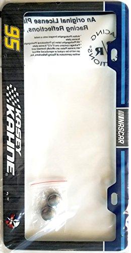 Kasey Kahne #95 ND RR Metal License Plate Chrome Tag Frame Cover Nascar (Kasey Kahne Cap)