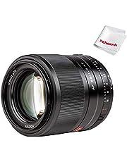 Viltrox 56mm F1.4 XF Autofocus Portrait Lens Compatible with Fujifilm X-Mount APS-C-Format Mirrorless Designed Cameras (Black)