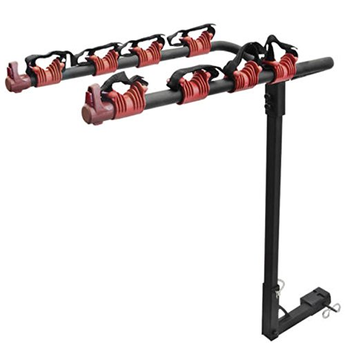 Bike Rack Hitch Mount Carrier Car yakima thule garage Wall Trunk 4 - Bar Tow Mounted Carrier Bike