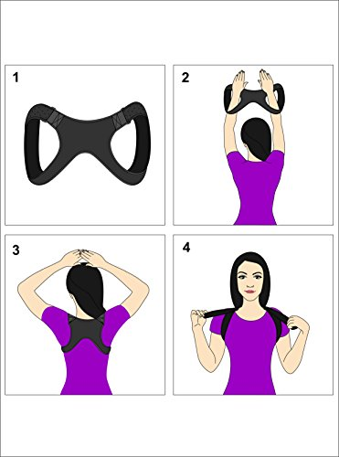 Apex Brace Posture Corrector for both Men & Women - Comfortable and Easily Adjustable Shoulder Support - Chest Support - Provides Upper Back Pain Relief – Improves Bad Posture by Apex Brace (Image #8)'