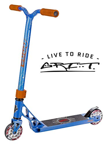 Used, Grit Fluxx Mini Pro Scooter (Satin Blue/Silver) for sale  Delivered anywhere in USA