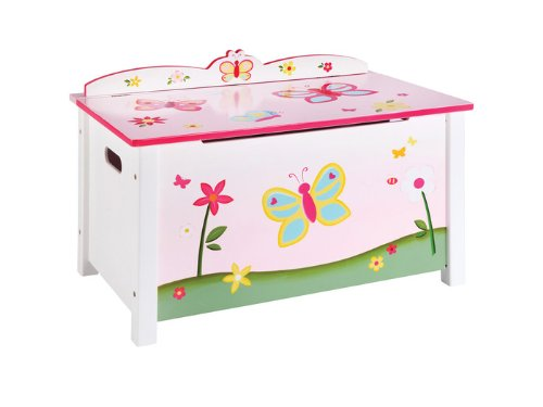 Guidecraft Butterfly Buddies Toy Box G86604 by GuideCraft