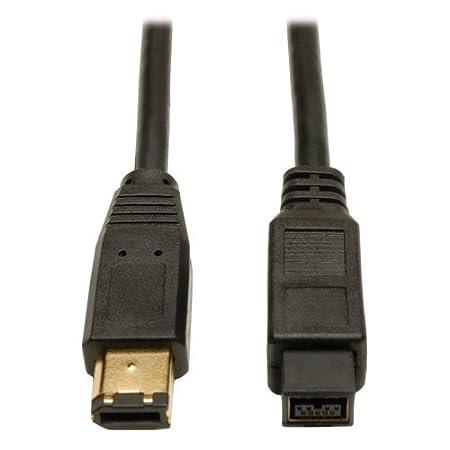 Tripp Lite F017-010 10 -Feet IEEE 1394b Firewire 800 Gold Hi-speed Cable, 9pin/6pin
