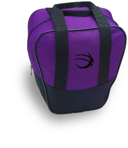 - BSI Nova Single Ball Tote Bag (Black/Purple)