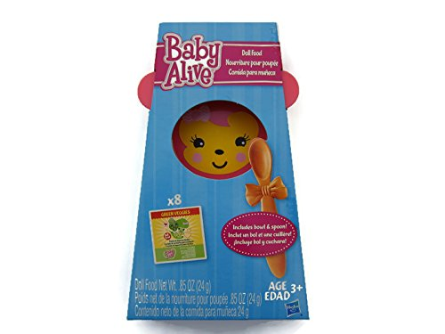 Baby Alive Doll Food Pack (Diapers And Food For Baby Alive compare prices)