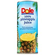 Dole Pineapple Juice, From Concentrate, 8.4 oz. 24 Count