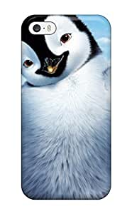 1780721K44429373 First-class Case Cover For Iphone 5/5s Dual Protection Cover Happy Feet 2 Movie