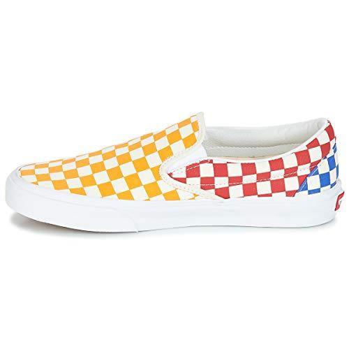 Multicolore Vans Donna Classic Slip 45 Scarpe checkerboard on BwwYSPqC