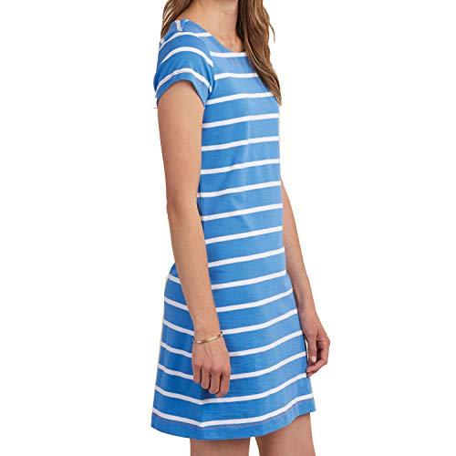Hatley Women's Nellie Dress Ice Blue Stripes Medium - Hatley Blue Stripes