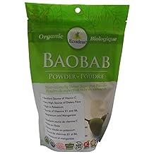 Ecoideas Organic Baobab Fruit Pulp Powder, 227g