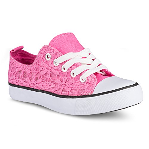 twisted-girls-kix-floral-embroidered-lo-top-sneaker-fuchsia-size-2