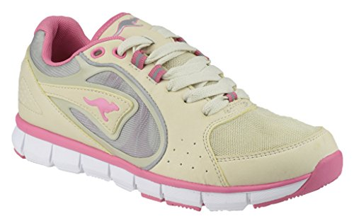 Kangaroos - Zapatillas para mujer Sand/Pink