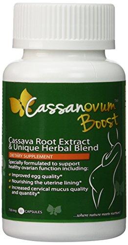 CassanOvum Boost, Fertility Supplement for egg quality and