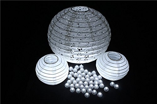 White Led Ball Lamps Mini Balloon Light For Paper Lantern Christmas Halloween Wedding Party Decoration (Genie Halloween Makeup)