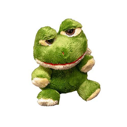 Unipak PLUMPEE Buggies Frog   Brown Eyed and Super Plump Green Frog   Amazingly Plush