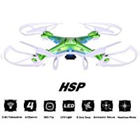 arVin Portable Drone, 360 Degree Rotation Flips Headless Mode with Live Camera Quadcopter LED Lighting for Night Flying 4 Channels Drone