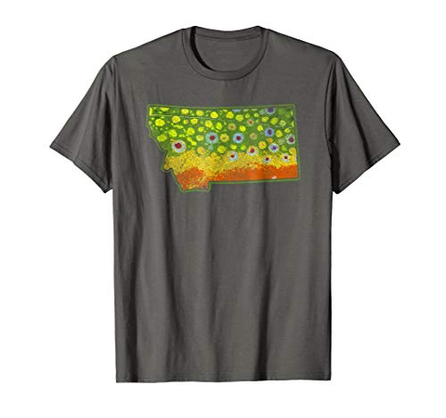 Fishing Fly Trout Brook - Brook Trout Fishing Shirt - Montana Fly Fishing tshirt
