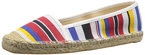 Nine West Women's Bigapple Canvas Slip-On - Navy Multi/Wh...
