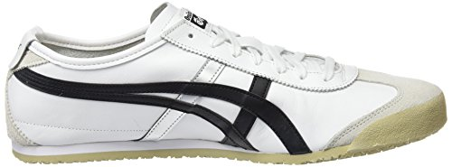 Blanco Mexico Unisex White Adulto Asics Black Onitsuka Zapatillas 66 0190 Tiger gwqESxp0