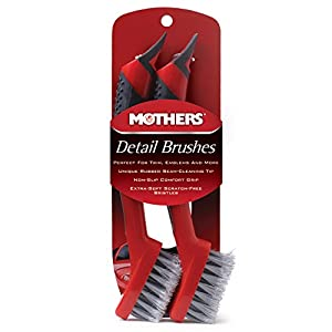 Mothers Detail Brush Set - 2 Pack