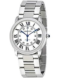 Ronde Solo Silver Opaline Ladies Watch WSRN0012