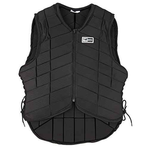 Intec Cushioned Riding Vest Black Size 36R  Black  36R